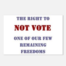 NOT VOTE: Postcards (Package of 8)
