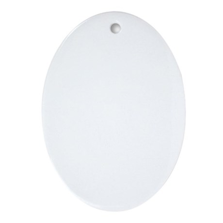 Double-Treble-01-b Oval Ornament