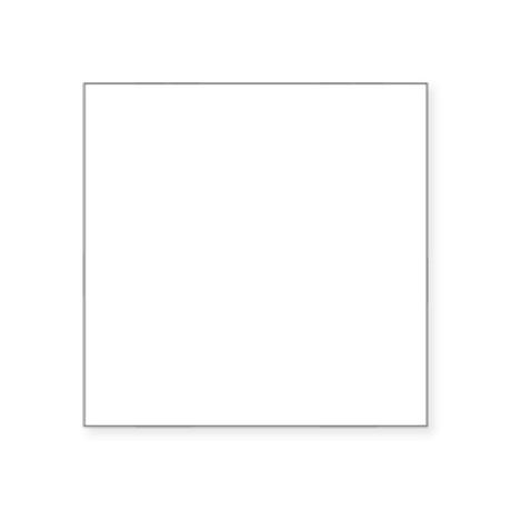 """Double-Treble-01-b Square Sticker 3"""" x 3"""""""