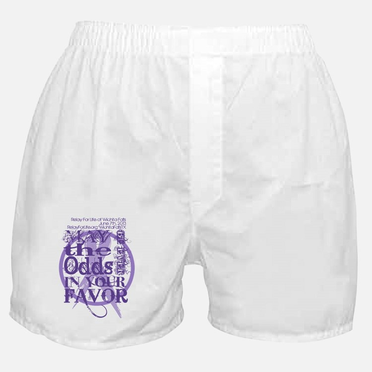 Relay For Life of Wichita Falls Boxer Shorts