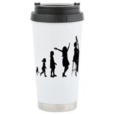 Evolution-Woman-02-a Travel Mug