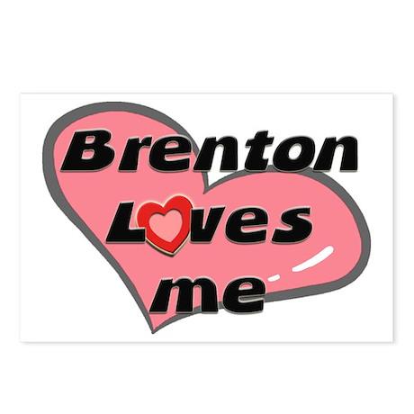 brenton loves me Postcards (Package of 8)