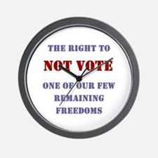 NOT VOTE:  Wall Clock