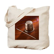 Thimble, needle, and thread Tote Bag