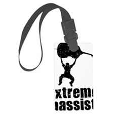 Extreme-Bassist-01-a Luggage Tag