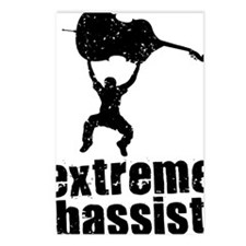Extreme-Bassist-01-a Postcards (Package of 8)