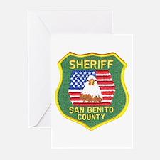 San Benito Sheriff Greeting Cards (Pk of 10)