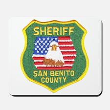 San Benito Sheriff Mousepad