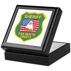 San Benito Sheriff Keepsake Box