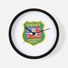 San Benito Sheriff Wall Clock