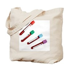 Blood samples Tote Bag