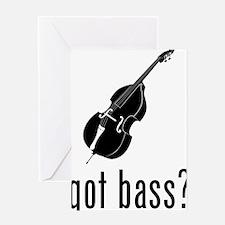 Got-Bass-02-a Greeting Card