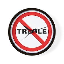 No-Treble-01-a Wall Clock