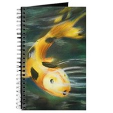 Pastel Koi Fish Journal