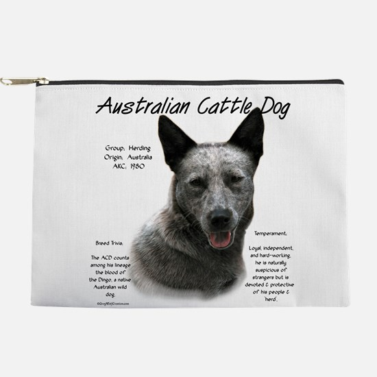 Cattle Dog (blue) Makeup Pouch