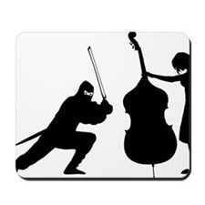 Ninja-Attack-01-a Mousepad