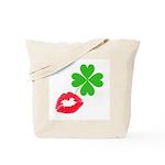 Irish Kiss Tote Bag
