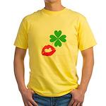 Irish Kiss Yellow T-Shirt