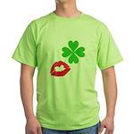 Irish Kiss Green T-Shirt