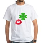 Irish Kiss White T-Shirt