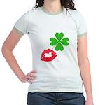 Irish Kiss Jr. Ringer T-Shirt