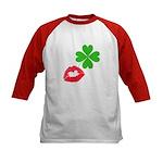 Irish Kiss Kids Baseball Jersey
