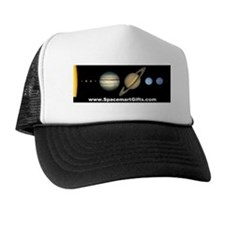 Scale Solar System Trucker astronomy Hat gifts
