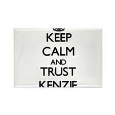 Keep Calm and trust Kenzie Magnets