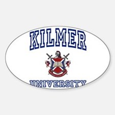 KILMER University Oval Decal