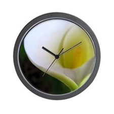 White Heart Wall Clock
