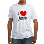 I Love Dostoevsky Fitted T-Shirt