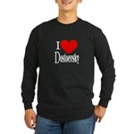 I Love Dostoevsky Long Sleeve Dark T-Shirt