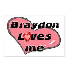 braydon loves me  Postcards (Package of 8)