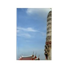 Wat Arun Temple of  Dawn) is Budd Rectangle Magnet