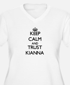 Keep Calm and trust Kianna Plus Size T-Shirt