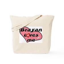 brayan loves me Tote Bag
