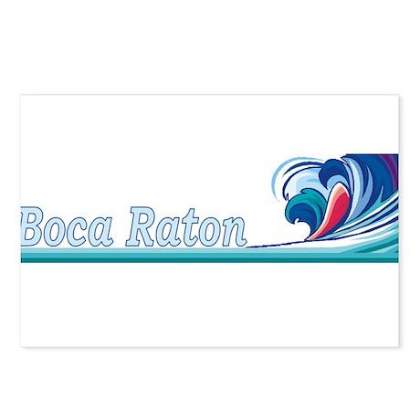 Boca Raton, Florida Postcards (Package of 8)