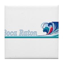 Boca Raton, Florida Tile Coaster