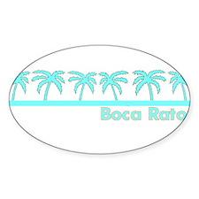 Boca Raton, Florida Oval Decal