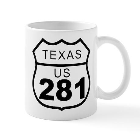Texas US 281 Highway Mug