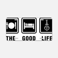 The-Good-Life-01-a Aluminum License Plate