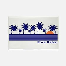 Boca Raton, Florida Rectangle Magnet