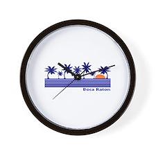 Boca Raton, Florida Wall Clock