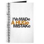 I've Made a Huge Mistake Journal