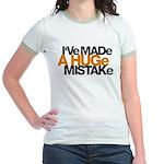 I've Made a Huge Mistake Jr. Ringer T-Shirt