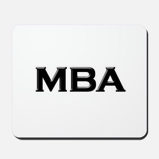 MBA / M.B.A. Mousepad