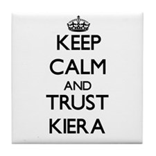 Keep Calm and trust Kiera Tile Coaster