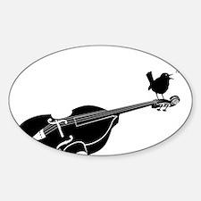 Song-Bird-01-a Sticker (Oval)