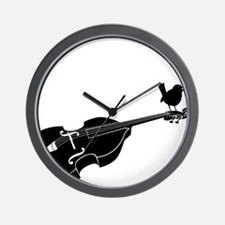 Song-Bird-01-a Wall Clock