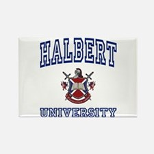 HALBERT University Rectangle Magnet